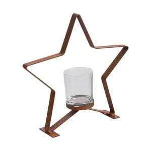 Świecznik J-Line Star Metal S