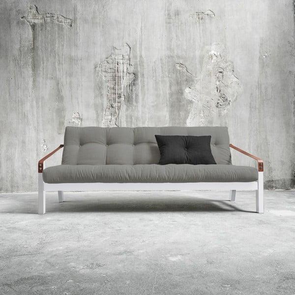 Sofa rozkładana Karup Poetry White/Granite Grey/Dark Grey