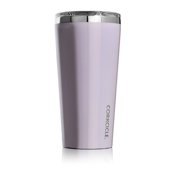 Fioletowy podróżny kubek termiczny Corkcicle Tumbler, 260 ml