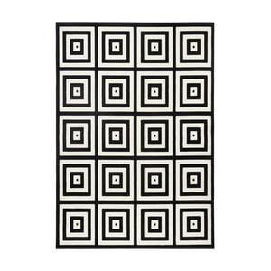 Czarno-szary dywan Zala Living Duola, 160x230cm