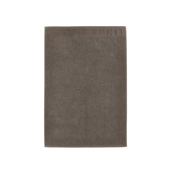 Dywanik łazienkowy Esprit Solid 60x90 cm, brązowy