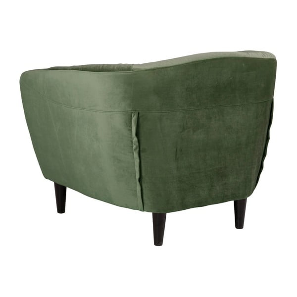 Zielony fotel Actona Ria