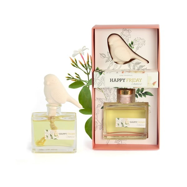 Dyfuzor o zapachu jaśminu HF Living Fragrance, 100 ml