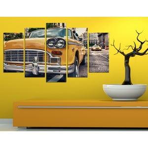 5-częściowy obraz Taxi