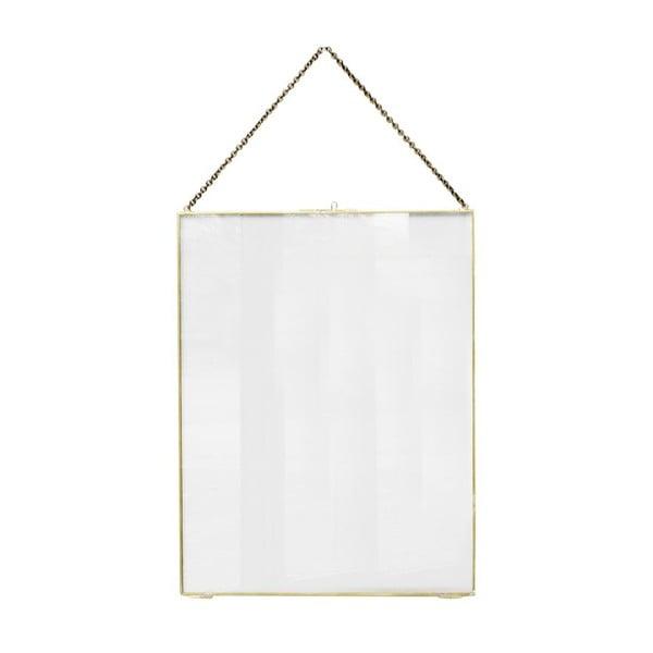 Wisząca ramka Glass Brass, 40x52 cm