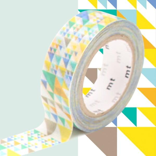 Taśma dekoracyjna washi MT Masking Tape Vivienne, dł.10m
