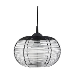 Lampa wisząca Searchlight Cage, srebrna