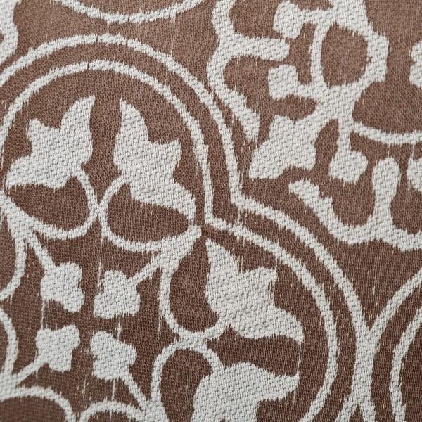 Brązowa poduszka Unimasa Glory, 45x45 cm