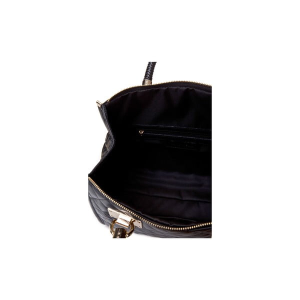 Czarna torebka skórzana Massimo Castelli Felice